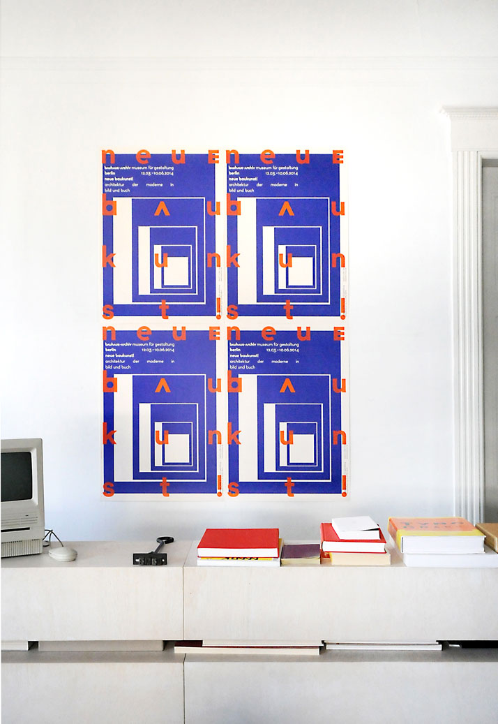 Poster designed by L2M3 for The Bauhaus-Archiv Museum für Gestaltung, © The Bauhaus.