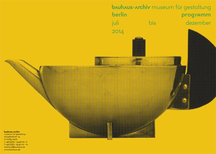 The First Corporate Identity of The Bauhaus-Archiv Museum in Berlin