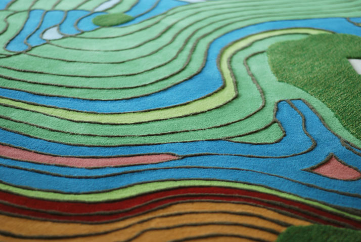 LANDCARPET Yunnan (detail), photo © Florian Pucher.