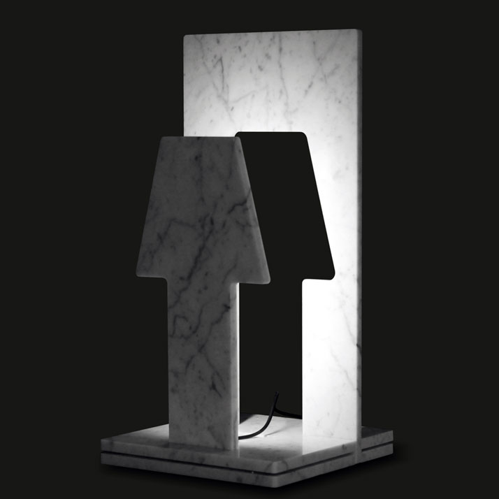 piùOmeno_LED lamp, photo © Paolo Ulian and Moreno Ratti.
