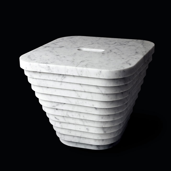 Layer stool, photo © Paolo Ulian and Moreno Ratti.