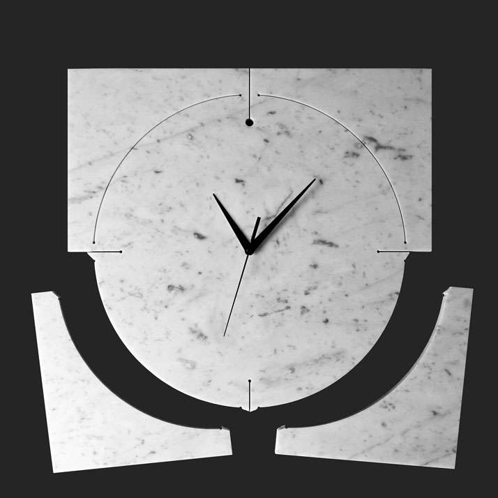 Quadrondo_clock, photo © Paolo Ulian and Moreno Ratti.