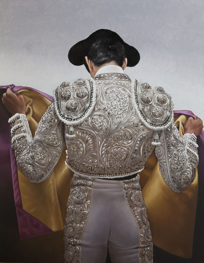'White and Silver Suit' by Christian Gaillard.Photo Courtesy of the artist and Connoisseur Art Gallery.