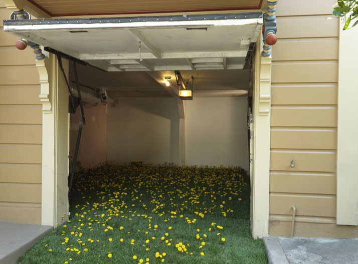 Field of Flowers, 2014; c-print, 34'' x 46''. Courtesy of Lee Materazzi.
