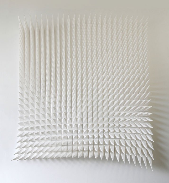 Recursive, 2012; paper 36 x 44 x 6 inches. Photo courtesy of Matt Shlian.