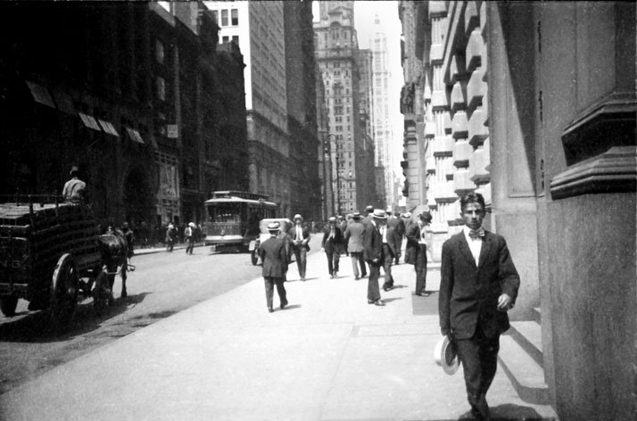 Ernst Leitz: New York II, 1914. © Leica Camera AG.