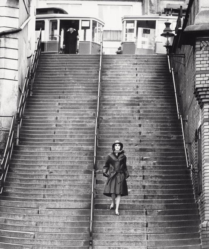 F.C. Gundlach, fashion editorial for Nino, Port of Hamburg 1958. © F.C. Gundlach.
