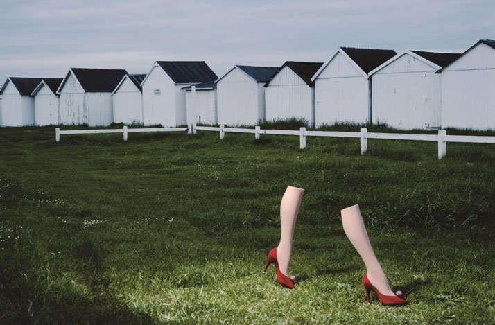 Charles Jourdan, Autumn 1979 © Guy Bourdin.