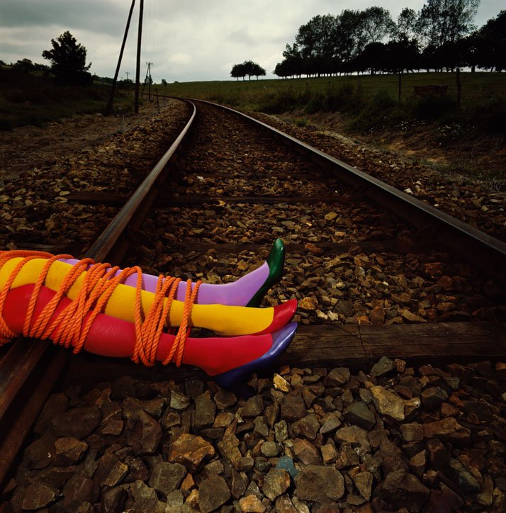 Charles Jourdan, Autumn 1970 © Guy Bourdin.