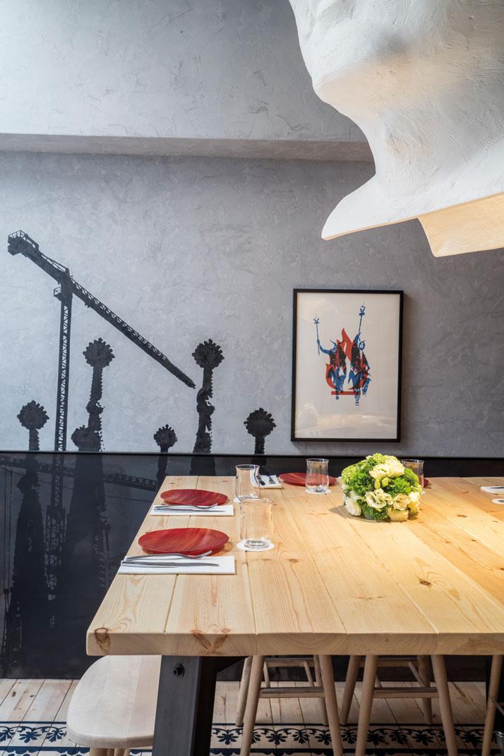 Foc restaurant in singapore by lagranja design studio yatzer - Lagranja design ...