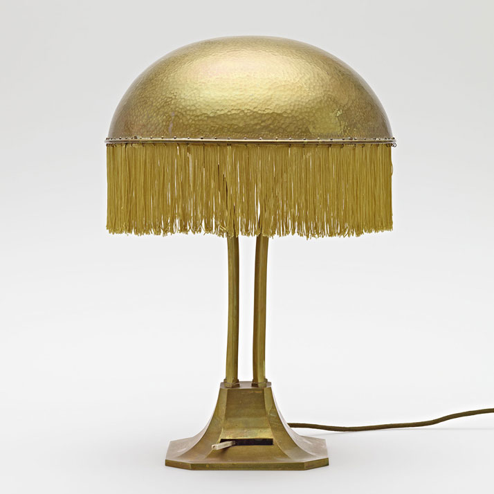 Adolf Loos: Table lamp from the Turnowsky residence, ca. 1900. Hummel collection, Vienna. Photo © MAK/Georg Mayer.