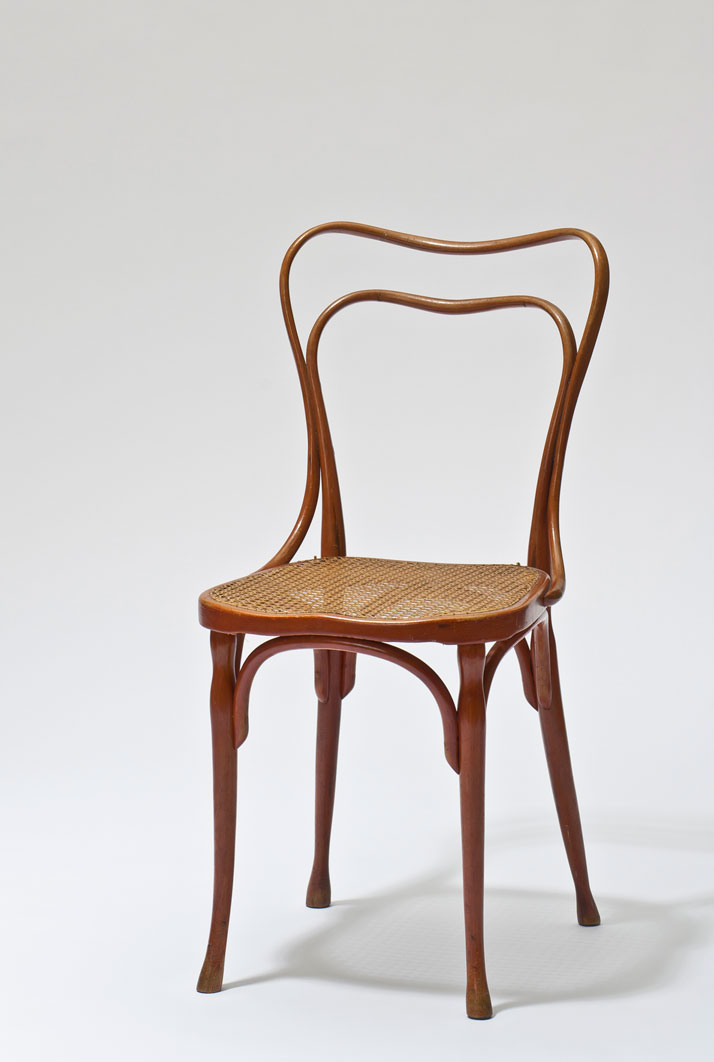 Adolf Loos: chair for Café Museum, Vienna, 1899. Photo © MAK/Georg Mayer.