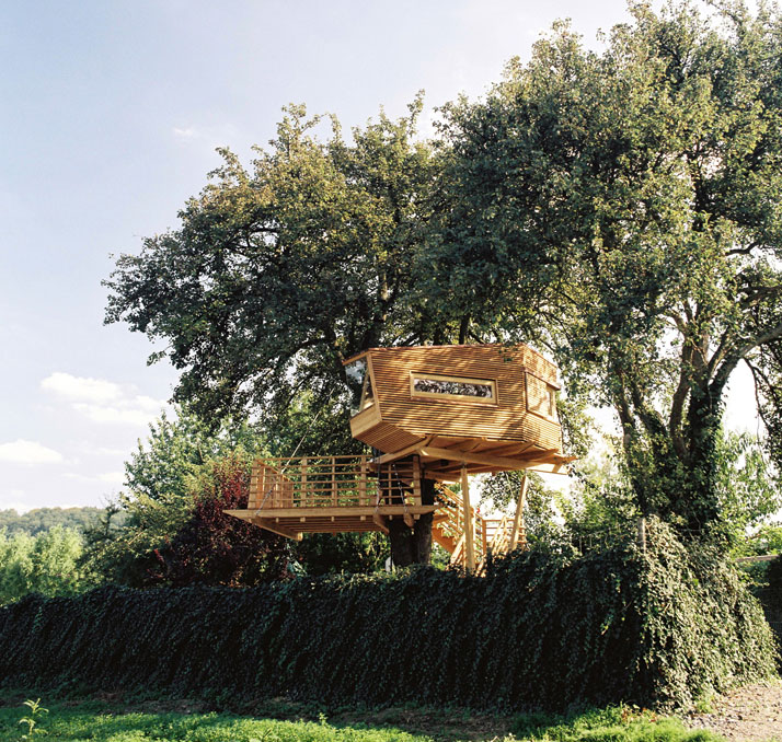 Peartree House by Raumbaum in Heilbronn-Franken, Germany, from the book Rock the Shack. Copyright Gestalten 2013.