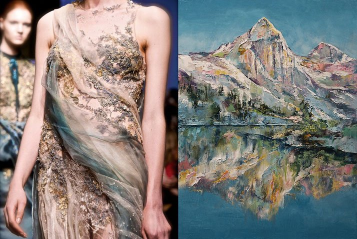 Match #130Yiqing Yin Haute Couture Fall 2013 | Mountain Lake by Michael Creese, 2014