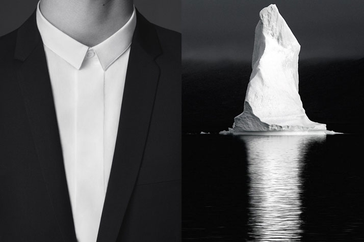 Match #124Dior Homme Demi-Measure campaign | Iceberg in the Arctic photographed by David C. Schultz