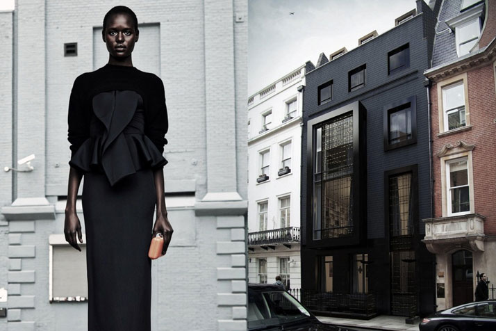 Match #102Ajak Deng for Givenchy Resort 2012 | Park Place in Mayfair, London by SHH Architects