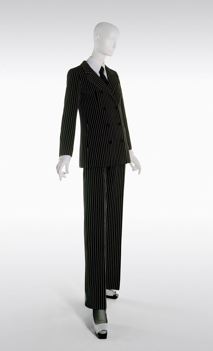 Pantsuit, Spring-Summer 1967. Photo © Fondation Pierre Bergé – Yves Saint Laurent / Alexandre Guirkinger.