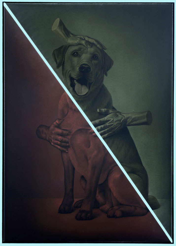 Eckart Hahn, Beloved, 2013. Acrylic on canvas, 100 x 70 cm. Photo courtesy of Wagner + Partner Berlin.