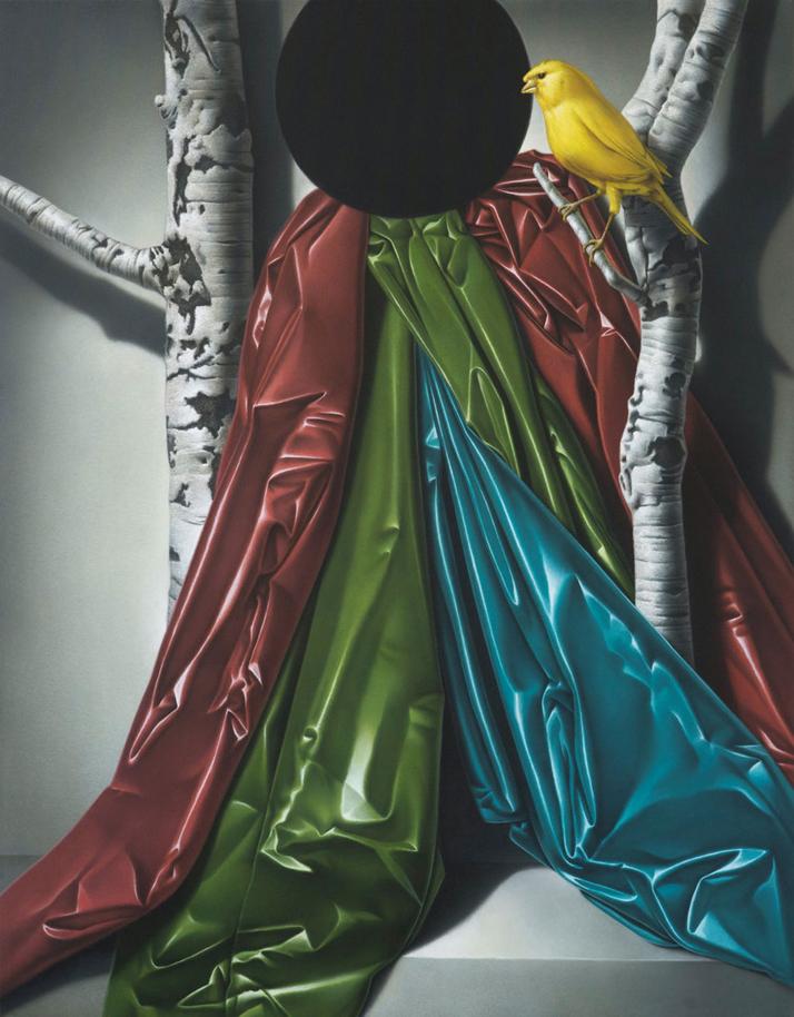 Eckart Hahn, BLACK HOLE, 2011. Acrylic on canvas, 90 x 70 cm. Photo courtesy of Wagner + Partner Berlin.