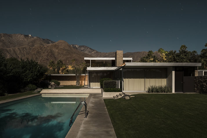 470 W Vista Chino Pool © Tom Blachford.