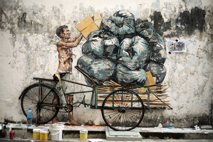 Photo courtesy of Ernest Zacharevic.