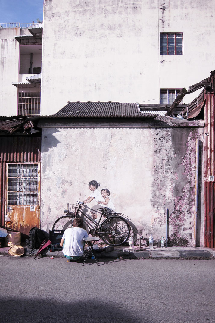 George Town, 2012. Photo courtesy of Ernest Zacharevic.