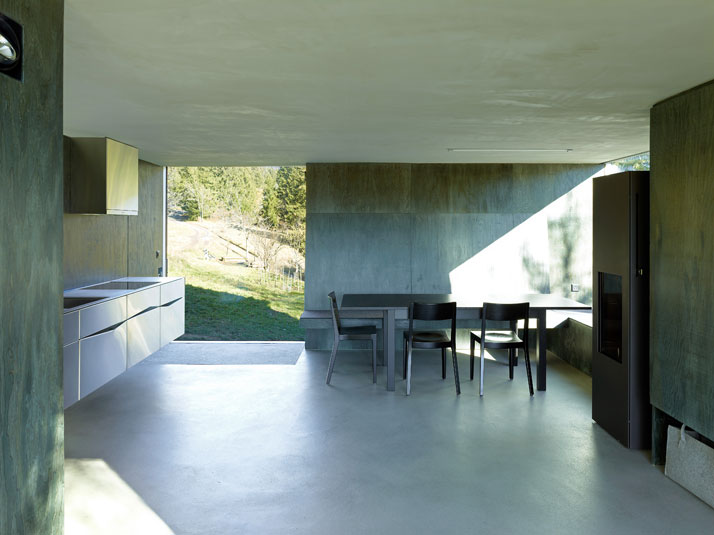 Savioz House by Savioz Fabrizzi Architects. Photo © Thomas Jantscher.