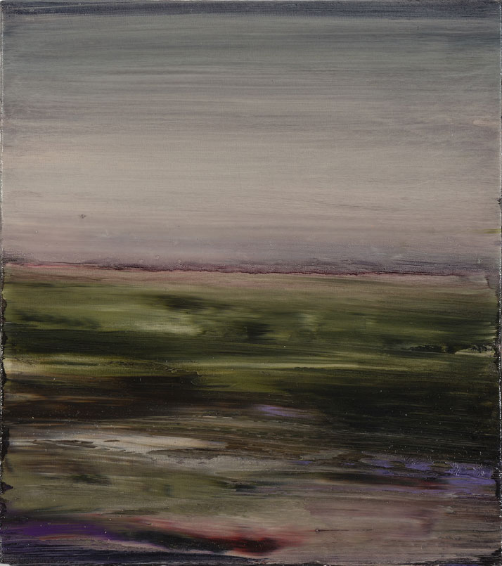 Aaron Kinnane, On the Road, 2014. Oil on canvas, 54 x 48 cm. Courtesy of Arthouse Gallery Sydney.
