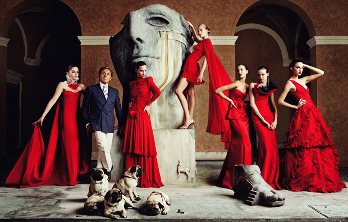 FASHION ON SCREEN: Friday 20 March 2015, 20:00.VALENTINO: THE LAST EMPEROR (96 minutes)Directed by Matt Tyrnauer.photo © Lorenzo Agius.