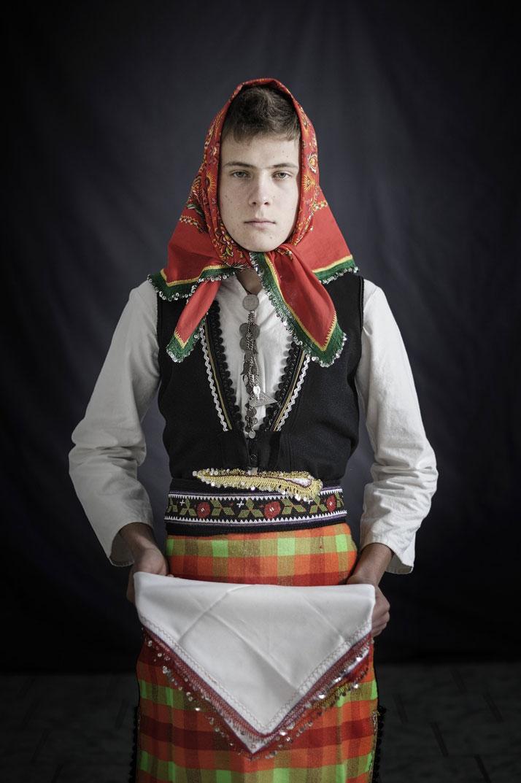 Faces + Masks series. Location: Xiropotamos, Drama Prefecture, Greece. Photo © Nikos Vavdinoudis.
