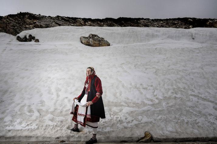 Faces + Masks series. Location: Volakas, Drama Prefecture, Greece. Photo © Nikos Vavdinoudis.