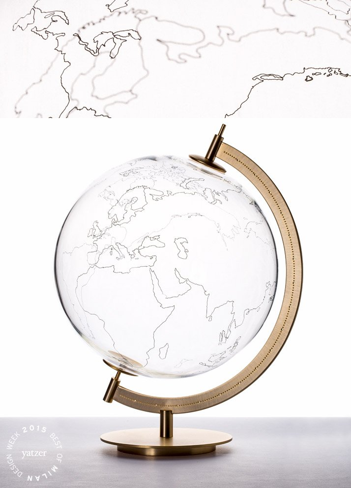 Coexist:Mod.Ground globe by GIO TIROTTO for Secondome.
