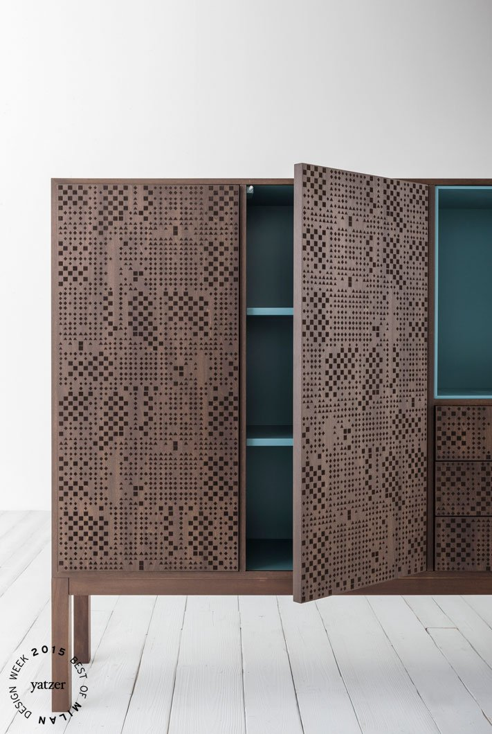 Hi-Deck cabinet by Carlo Tamborini for Capodopera.