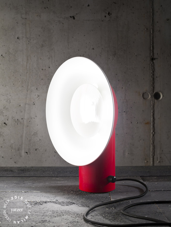 Reverb table lamp by Alessandro Zambelli for ZAVA.