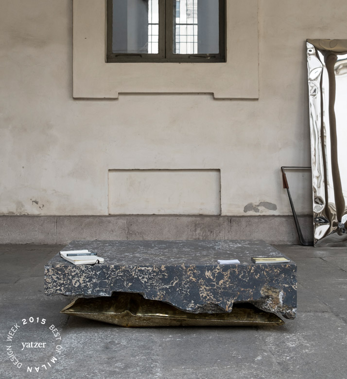 In Hale coffee table by Ben Storms. (Presented at  ''A Matter of Perception'' exhibition organized by DAMn° magazineand MOSCAPARTNERS at Palazzo Litta. Photo © Ruy Teixera.)