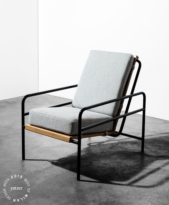 Armchair by Jean Angelats and Jonathan Renou / ATELIERS J&J. Photo © Christophe Coelon. (spotted on: Belgium IS DESIGN).