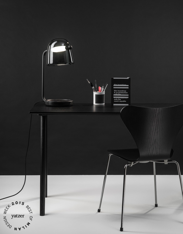 Mona table lamp by Lucie Koldová for Brokis.