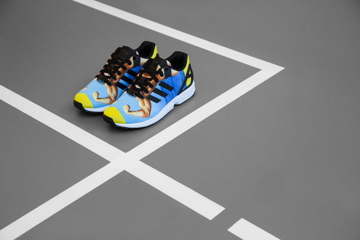 Body Building Adidas ZX FLUX by Atelier Biagetti for INNER. Photo © Alessia Cuoghi.