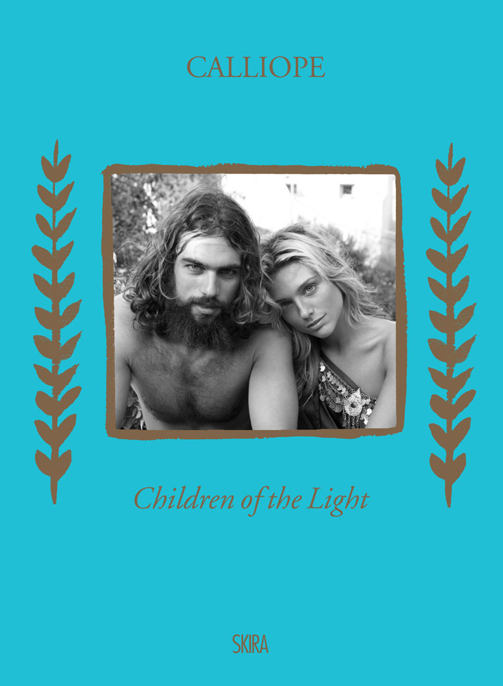 Spyros, Marianna, the cover of ''Children of the Light'' book by CALLIOPE, © 2014 Skira editore.