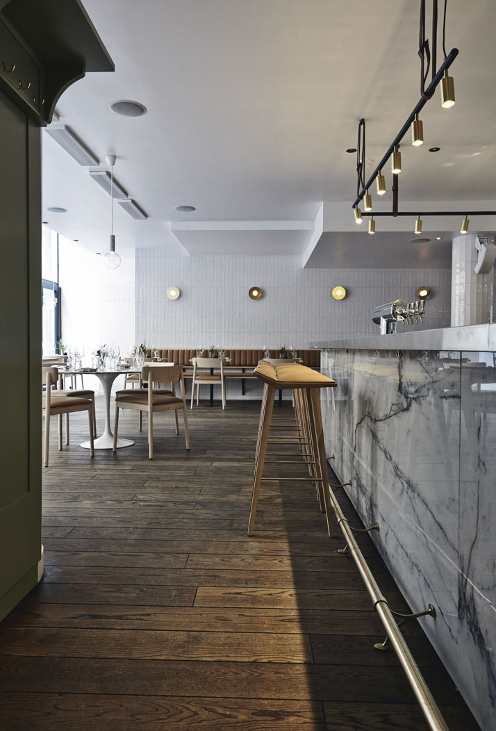 Michel restaurant cocktail bar in helsinki by joanna laajisto yatzer - Bar cuisine studio ...