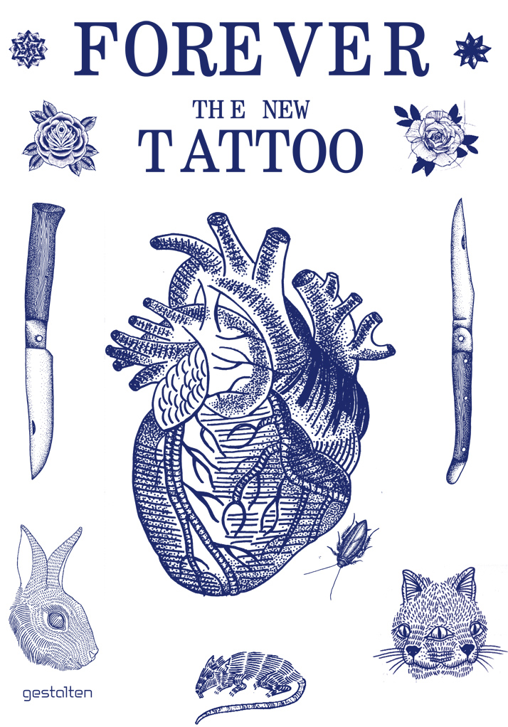 Cover of 'Forever: The New Tattoo'; design by Floyd E. Schulze for Gestalten. Copyright Gestalten 2012.