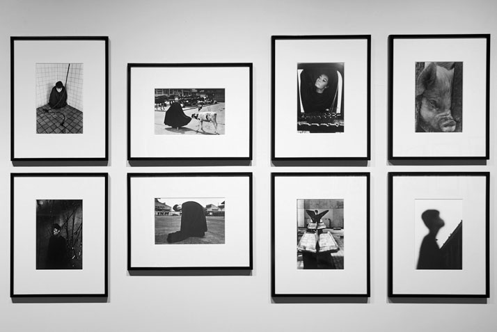 Installation view of the exhibition 'Masahisa Fukase - The Incurable Egoist'. Photo by Wataru Kitao.