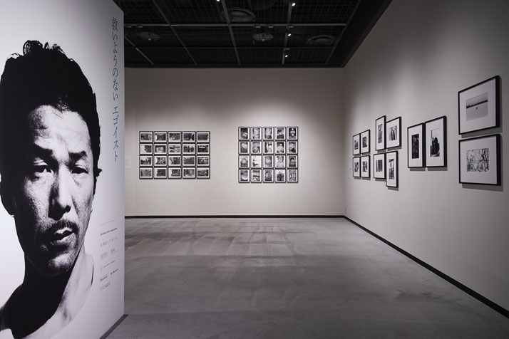Installation view of the exhibition 'Masahisa Fukase - The Incurable Egoist'. Photo by Wataru Kitao.
