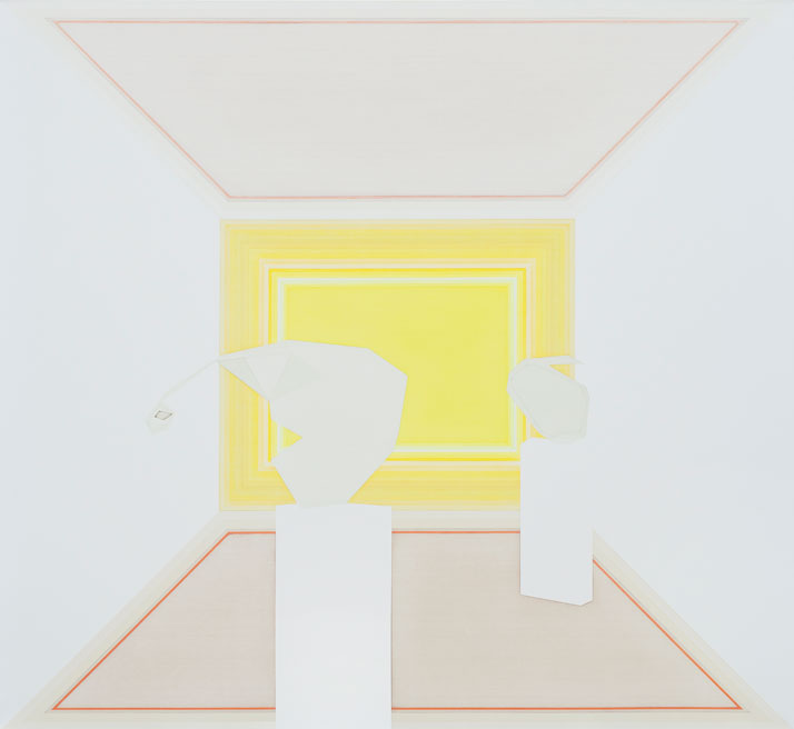 Selma Parlour, Magnificent Isolation, 2011. Oil on linen, 150cm x 163cm. Photo: Pinelopi Gerasimou.