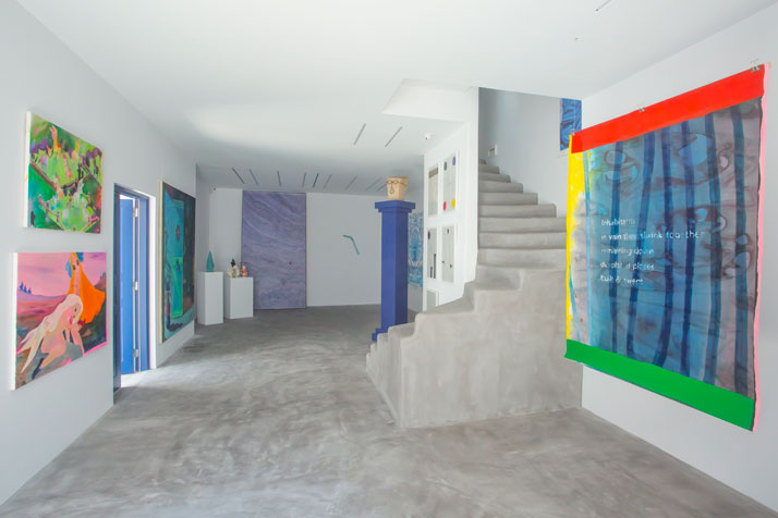 Dio Horia Contemporary Art Platform, Dio Horia in Mykonos exhibition, Installation view. Photo: Pinelopi Gerasimou