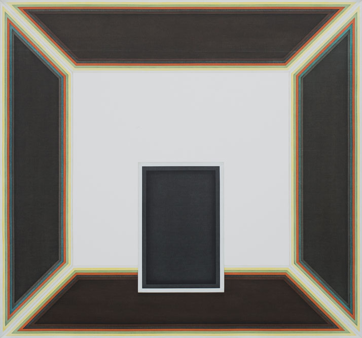 Selma Parlour, Reticle, 2012. Oil on linen 150cm x 160cm. Photo © the artist.