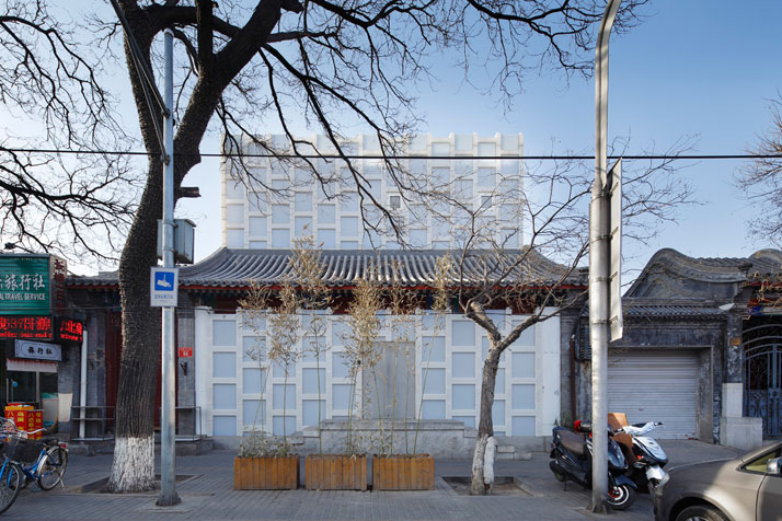 Beijing TEA HOUSE, photo © Koji Fujii / Nacasa & Partners Inc.