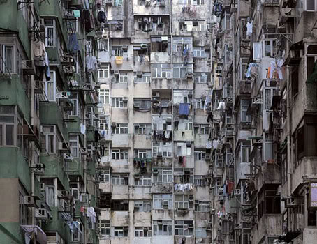 Pictures Of Apartment Density In Hong Kong By Michael Wolf
