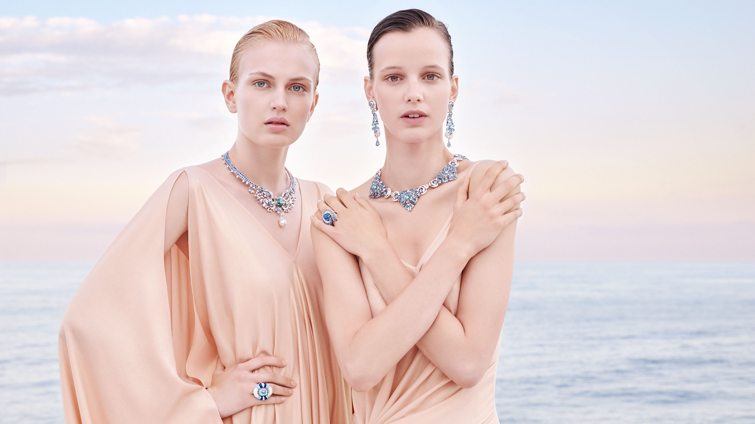 Seven Seas campaign shot © Van Cleef & Arpels. Photo by Sonia Sieff.