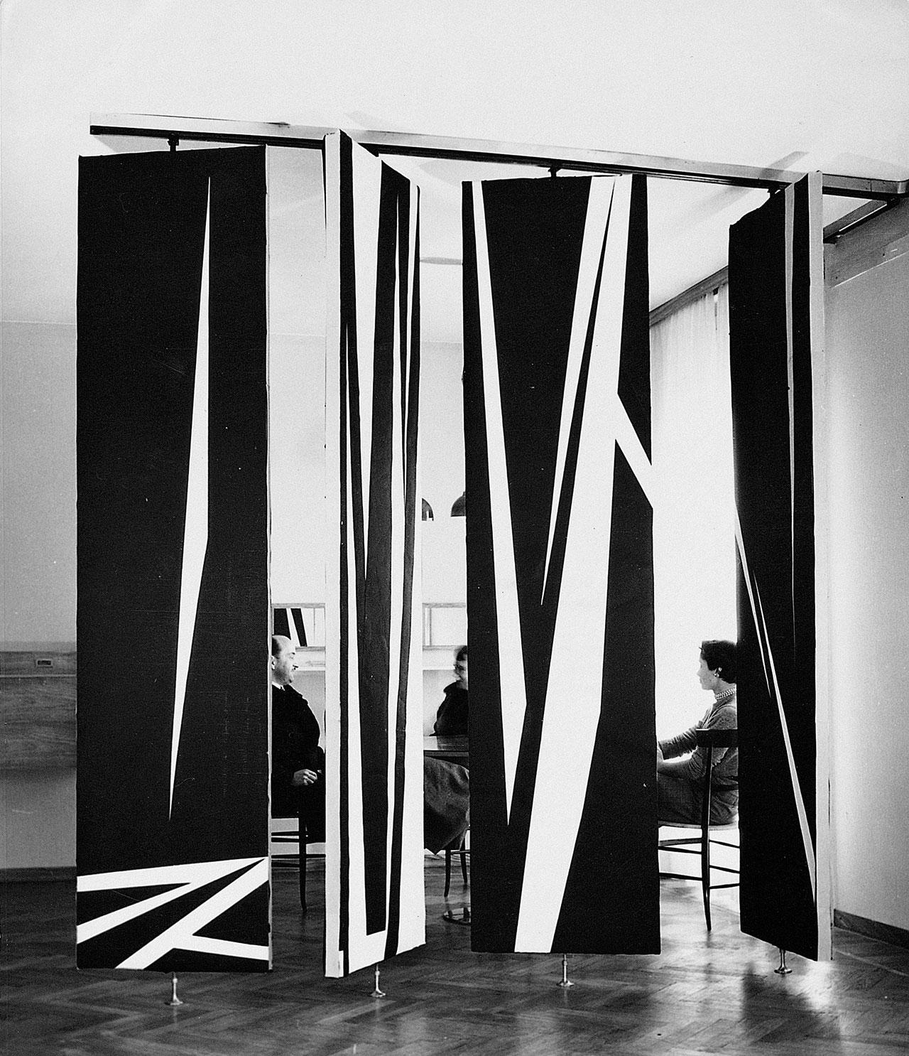 Appartamento Bignardi, Milano, 1952© Agape